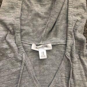 Motherhood Maternity Sweaters - Motherhood maternity hooded sweater